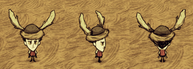 File:Beefalo Hat Wilson.png