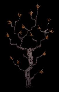 樹/枝條樹
