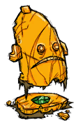 Ancient Face Gemmed