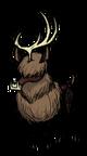 No-Eyed Deer Horned