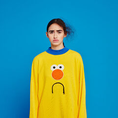 Yellow Guy sweatshirt.