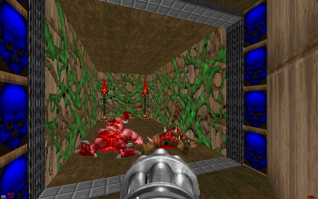 File:Lost episodes of doom e1m1 red key.png