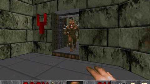 Imp stuck in doorway
