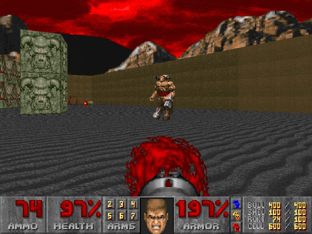 File:E2M8 Battling Cyberdemon.png