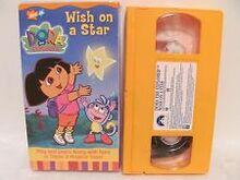 Dora The Explorer Wish On A Star VHS