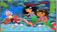 Dora's rescue in mermaid kingdom my favorites.