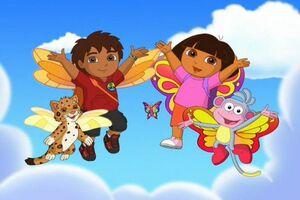 Dora butterfly 01550