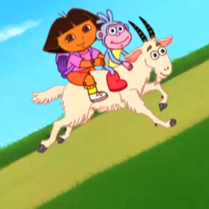 Dora Save Diego Mountain Goat