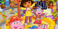 Dora's Thanksgiving Day Parade