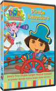 Dora's Pirate Adventure DVD