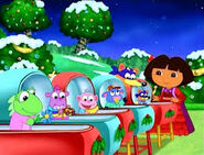 Dora and the babies