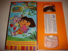 Dora The Explorer Swing Into Action VHS
