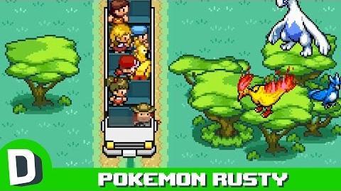 Pokemon Rusty- Legendaries