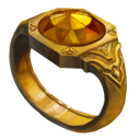 Ring yellow knight