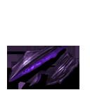 Broken erebus scale purple