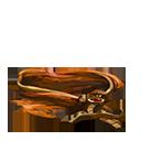 Torn cloak scrap orange
