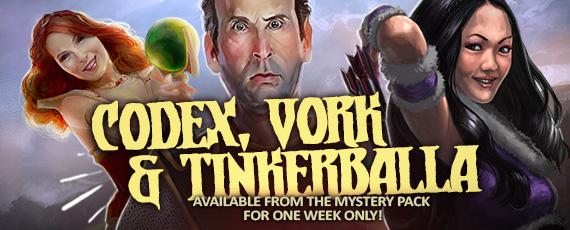 Scroller mystery codex vork tinkerballa