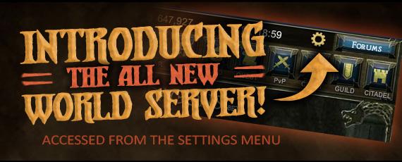 Scrollers dotd intro world server
