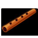 Flute orange