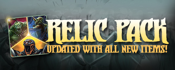 Scroller dotd relic pack 111314 orc