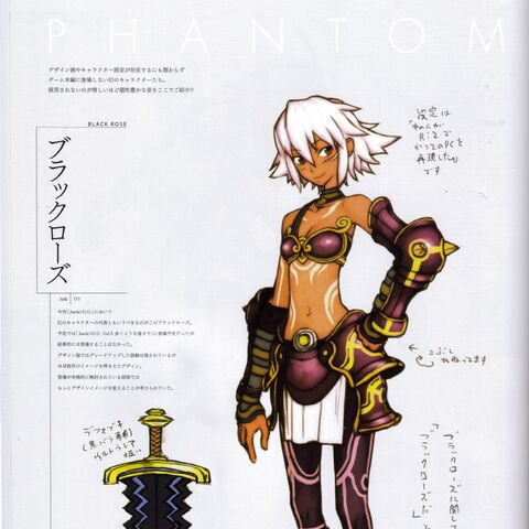 Concept art of G.U. BlackRose
