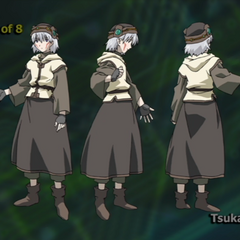 Character design for Tsukasa in <a href=