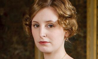 Downton Abbey Laura Carmichael on Lady Edith