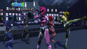 PowerRangers2017-For-The-Sims-4