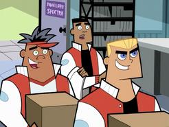 S01e09 jocks carrying boxes