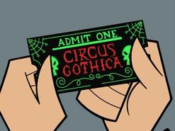 S01e20 Circus Gothica ticket