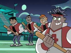 S01e06 jocks with bats