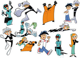 Danny Phantom Characters