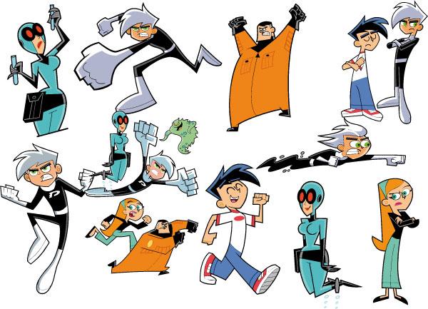 File:Danny Phantom Characters.jpg