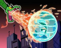 S03e08 ice shield vs fire breath