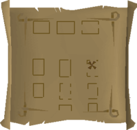 Map clue West Ardougne