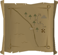 Map clue Draynor willows