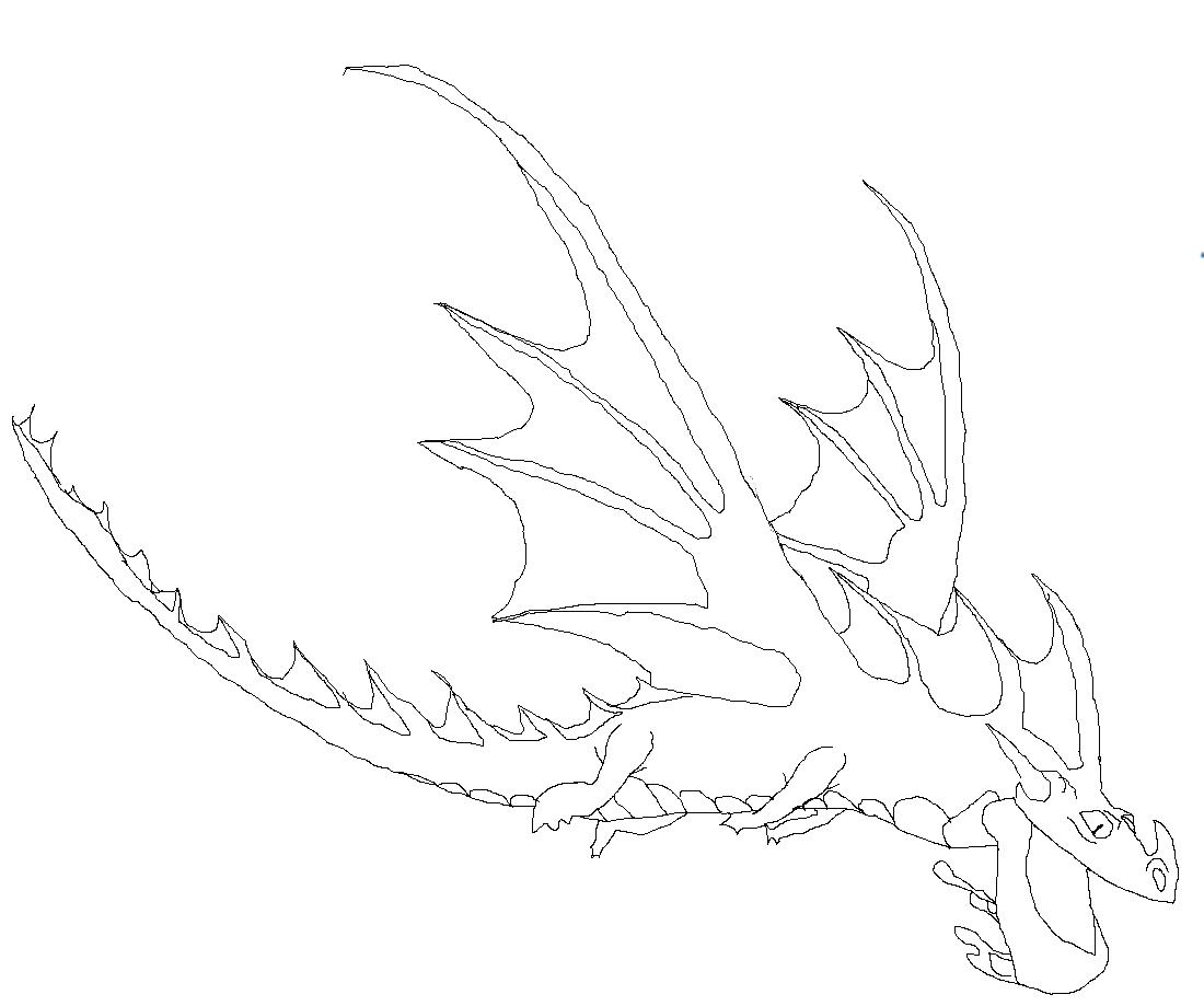 Bild Ausmalbild Schockdrache Drachenzähmen leicht gemacht Wiki