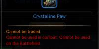 Crystalline Paw
