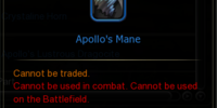 Apollo's Mane