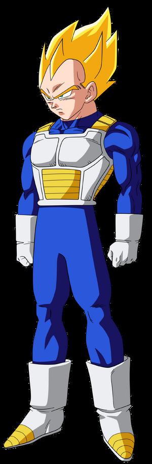 Vegeta Super Saiyan form