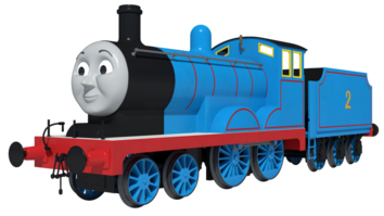Cgi edward the blue engine by skarloeythegreat-d9jq0ay
