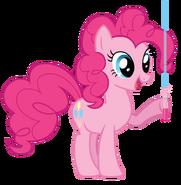 Pinkie (wielding her Lightsaber)