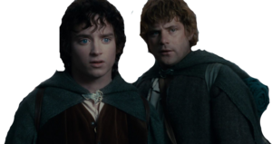 Frodo and Sam photoshopped