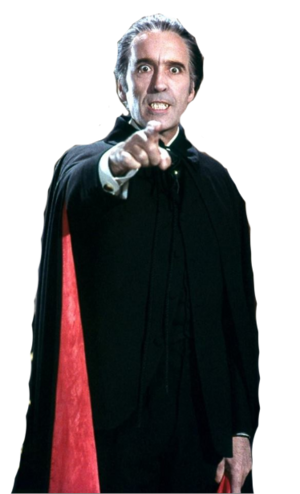 Chistropher Lee Dracula