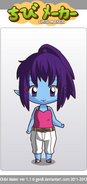 Zelda Beryl - Chibi