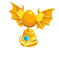 Gold Skylord Statue
