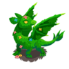 Forest Dragon Topiary