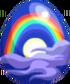 Lunar Rainbow Egg