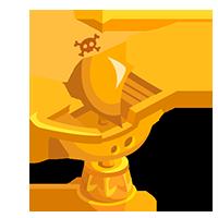 Captain's Gold Trophy