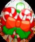 Candy Cane Egg